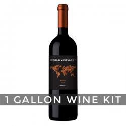 Chilean Merlot, World Vineyard 1 Gallon Wine Kit