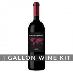 California Cabernet Sauvignon, World Vineyard 1 Gallon Wine Kit