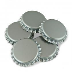 Silver Crown Caps O2 Barrier, 144 ct.