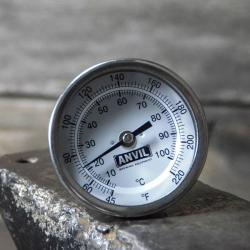 Anvil Weldless Dial Thermometer - 2.5 in. Stem
