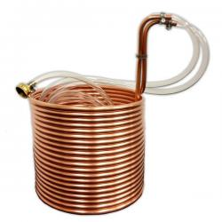 Jumbo Immersion Wort Chiller, 50' x 3/8