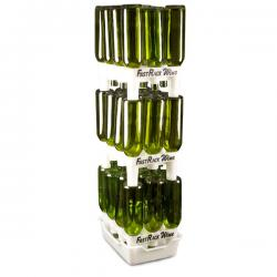 FastRack Wine and Bomber Bottle Drying & Storage System - 3 Racks & 1 Tray Combo