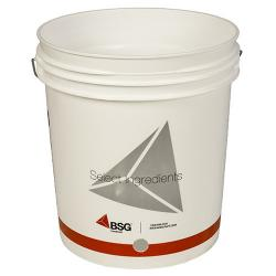 7.8 Gallon Drilled Bucket