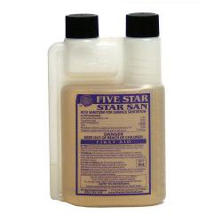 Five Star Star San 8 oz. Bottle