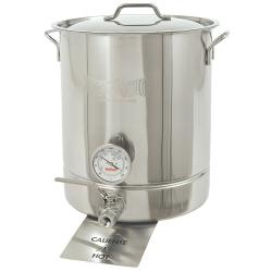 Bayou Classic 8 Gallon Standard Stainless Steel Brew Kettle Set
