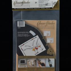 Celebration/Glass Classic Studio Labels - 32 Count
