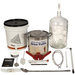 Gold Complete Beer Equipment Kit