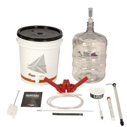Gold Beer Equipment Kit with 6 Gallon PET Carboy