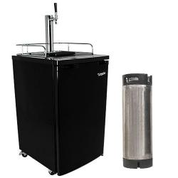 Edgestar Ultra Low Temp Home Brew Kegerator with Keg