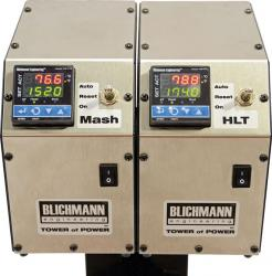 Blichmann Tower of Power Mounting Plate - Dual Controller