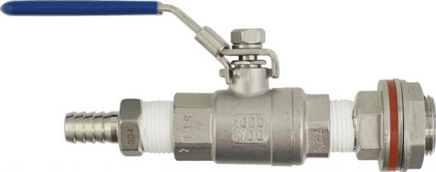 Stainless - Weldless Ball Valve