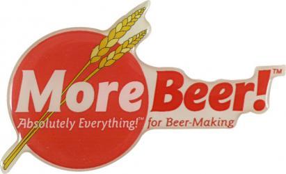 MoreBeer! Puffy Sticker