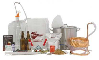 Personal Home Brewery Kit #4 - Bottling Super Deluxe With PET Carboy
