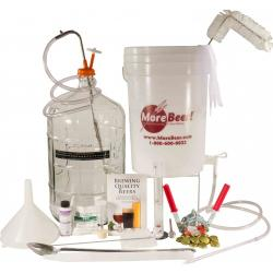 Homebrew Starter Kit Deluxe With Glass Carboy