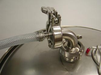 Blichmann Tri-Clamp Blow-off kit