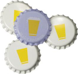 Cold Activated Bottle Caps (50)