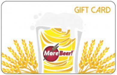 MoreBeer! Mailed Gift Card