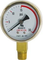 Gauge - Low Pressure (0-30 psi)