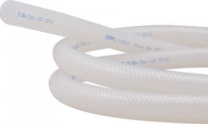 Tubing - Reinforced Silicone (3/8 in ID) - By the foot