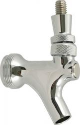 Faucet - Chrome With Stainless Steel Lever