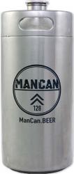 ManCan SS Mini-Keg Growler - 128 oz