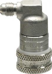 Ball Lock Gas In (Stainless) - Flared