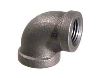 Gas Pipe Elbow - 1/2''