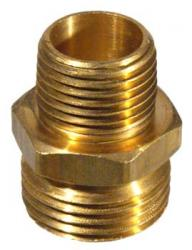 Brass Hose - Male Hose x 1/2'' mpt