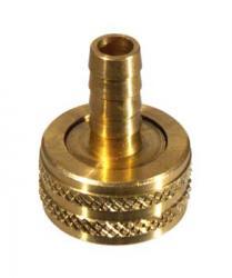 Brass Hose - Female Hose x 3/8'' Barb
