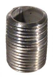 Stainless Nipple - 1/2'' x 1