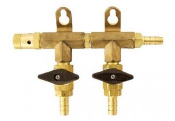 Gas Manifold - 2 Way