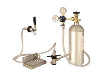 Stainless Deluxe Kegerator Conversion Kit