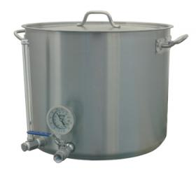 15 Gallon HLT - Stainless Hot Liquor Tank