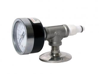 CO2 Adapter with Pressure Gauge