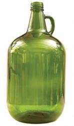 Glass Jar - 1 Gallon, Green (4 Liters)