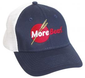 MoreBeer! Trucker Hat - Blue