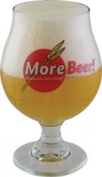 MoreBeer! Belgian Glass (16oz)