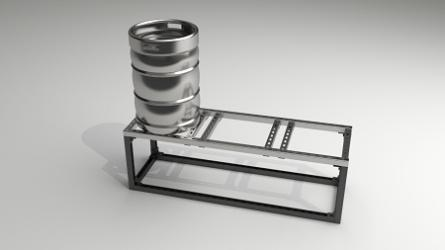 DIY 3 Burner Stainless Steel Brewing Stand Kit