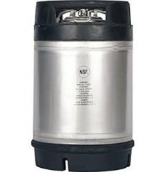 New 3 Gallon AMCYL Ball Lock Keg w/ Dual Rubber Handles
