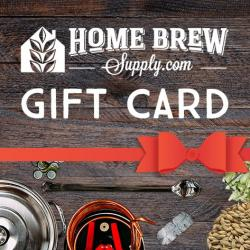 Homebrew Supply Gift Card