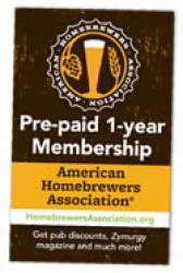 American Homebrewers Association - 1 Year Membership