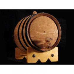1 Liter Mini Oak Barrel for Aging Beer, Wine or Spirits