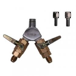 WYE Air Distributor with 2 Check Valves
