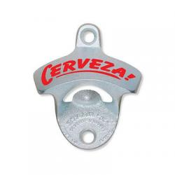 Cerveza Starr Wall Mount Bottle Opener