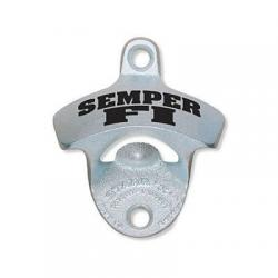 Semper Fi Wall Mount Bottle Opener