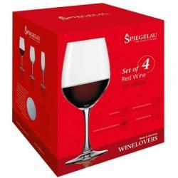 SPIEGELAU Red Wine Glasses (Set of 4)