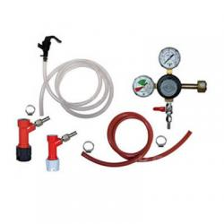 Basic Draft Beer Homebrew Keg Kit - PIN LOCK - Taprite Regulator