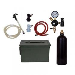 Basic Homebrew Keg Kit In Ammo Can - 20oz CO2 - Ball Lock