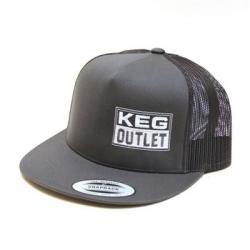 Keg Outlet Trucker Hat (FlexFit Classic Trucker Snap Back)