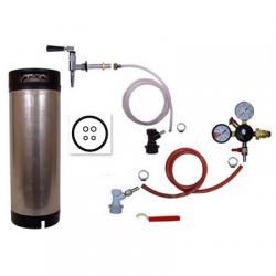 Refrigerator Keg Kit - Nitrogen Tap with Ball Lock Keg